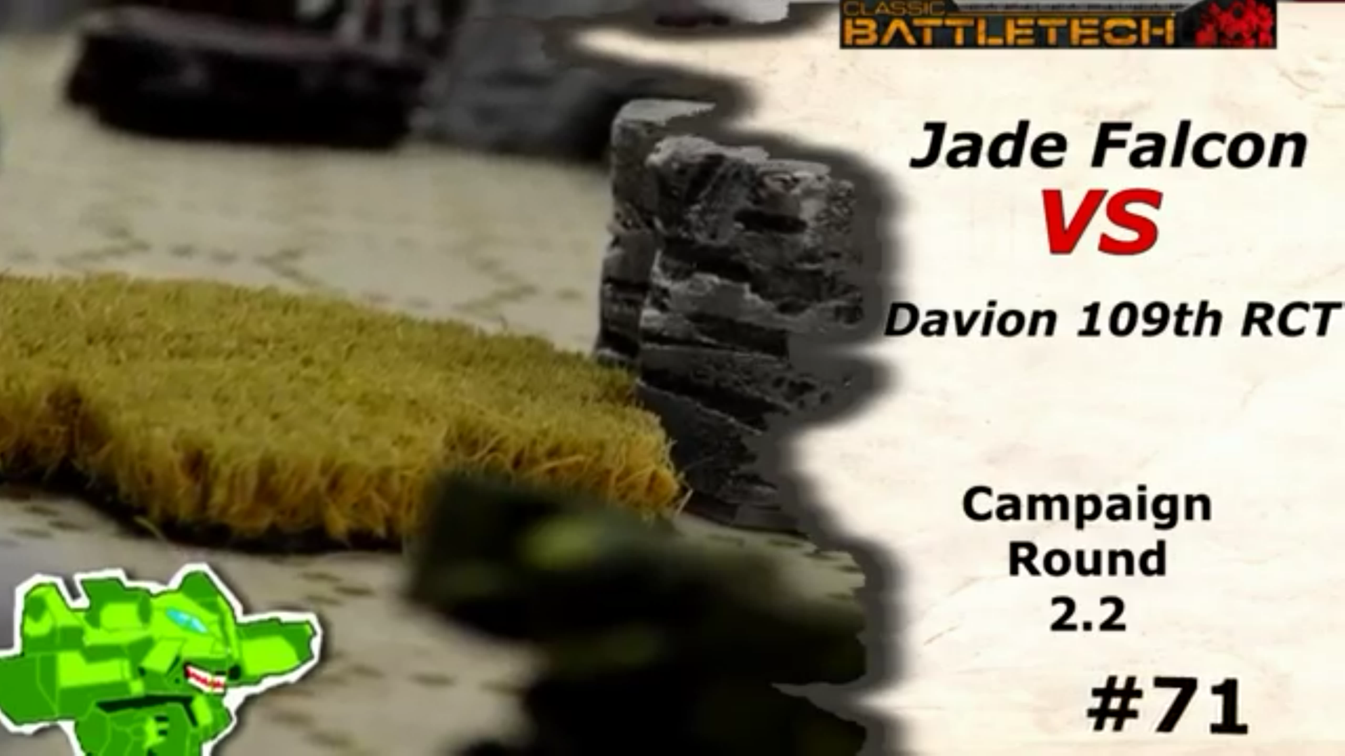 #71 Jade Falcon vs. Davion 109th RCT