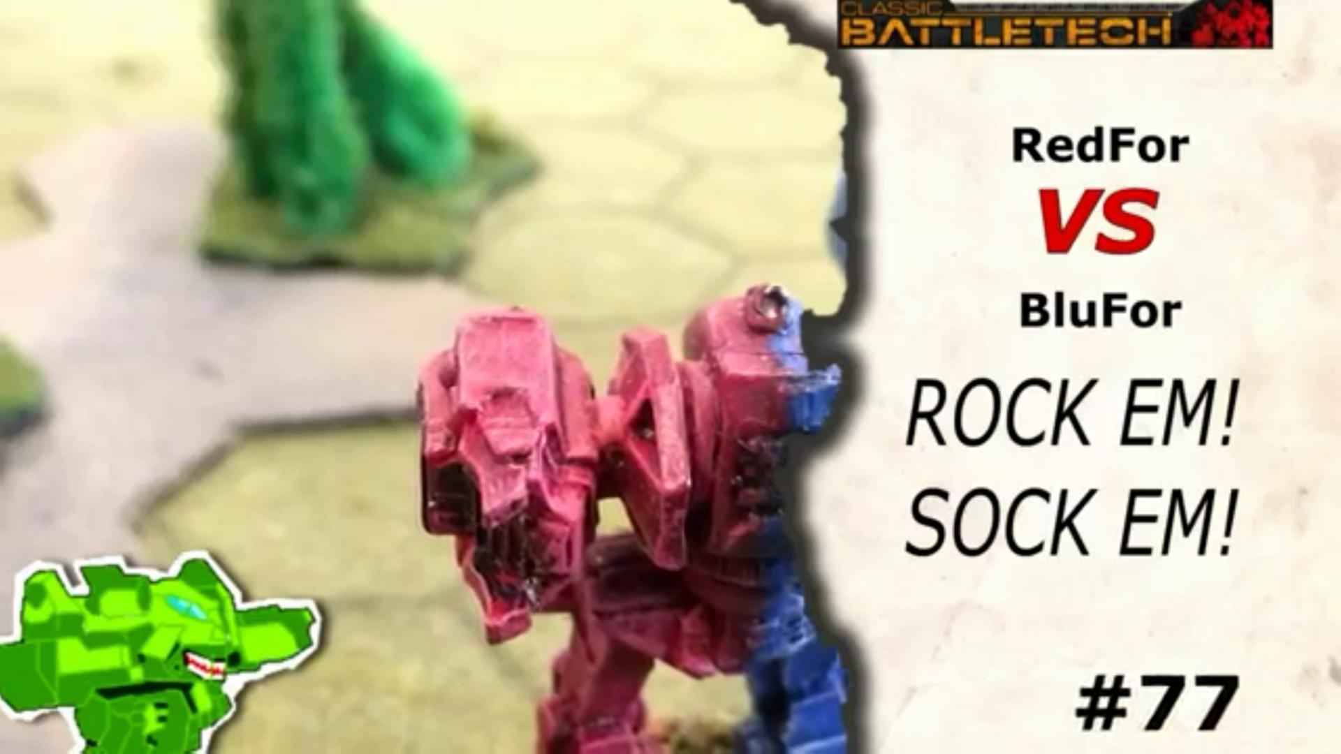 #77 Rock 'Em Sock 'Em